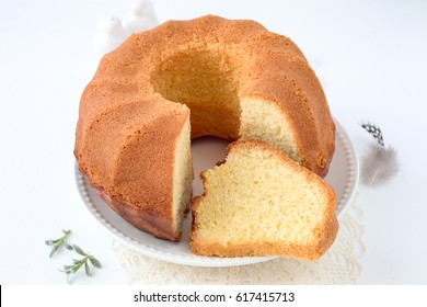 Homemade bundt cake