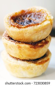 Homemade Butter Tarts Stacked