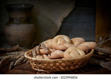 homemade cakes pretzels muffin buns