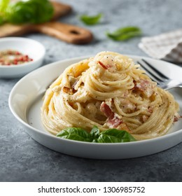 Homemade Carbonara pasta