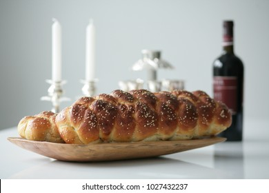 Homemade challah for Shabbat
