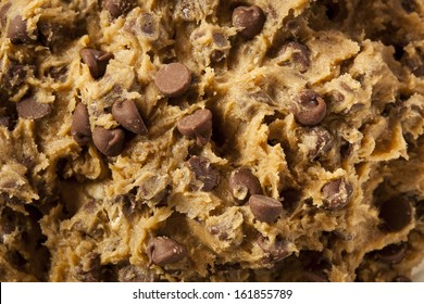 Homemade Chocolate Chip Cookie Dough Ready to Bake