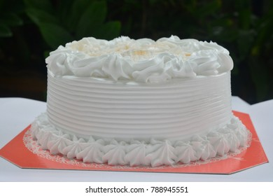 Homemade Coconut Fresh Cream Cake