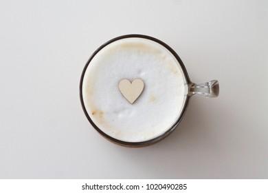 Homemade coffee with love