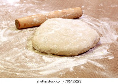 Homemade cookies, dough, gingerbread