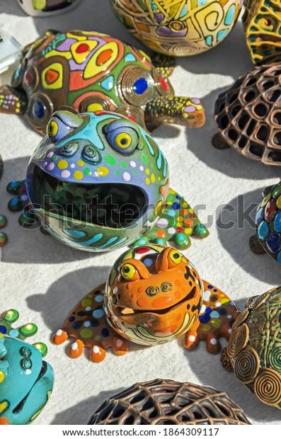 homemade-covered-colored-enamel-figurine