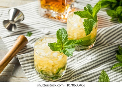 Homemade Derby Mint Julep with Kentucky Bourbon