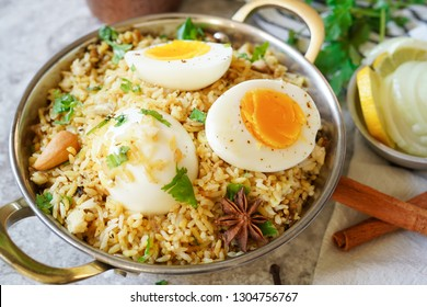 Homemade Egg Biryani / Pilaf or Pulav /Spicy Chettinadu Dindigul Malabar rice Pulao