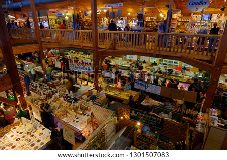 Homemade Food Craft Shops Indoor St Stock Photo Edit Now