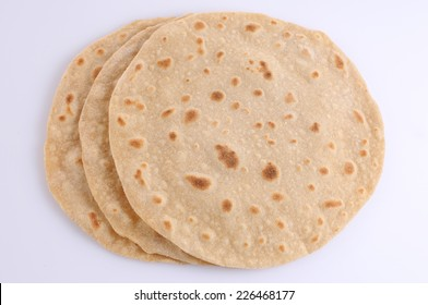 Homemade fresh wheat flour Chapathi,Homemade fresh Hot Chapati .