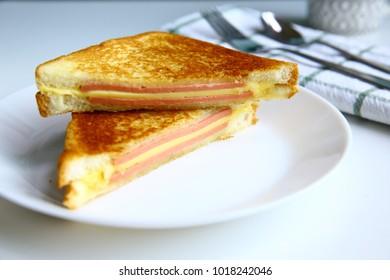 Homemade good breakfast