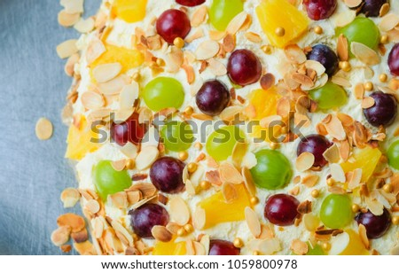 93 Happy Birthday Cake With Fruits
