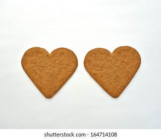 homemade heart shaped cookies