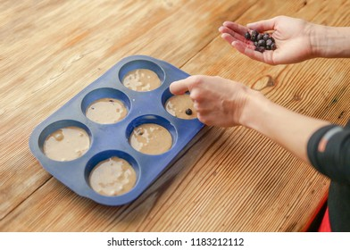 Homemade heathy muffins