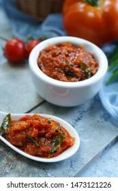 Homemade IndianTomato Chutney / Pickle