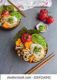 Homemade japanese meal / Japanese Rice Bowl / Delicious and healthy with all the wholesome goodies
