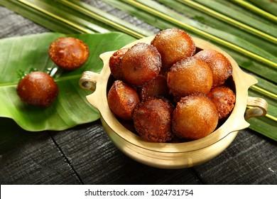 Homemade Kerala sweet snack- unniyappam, unniappam