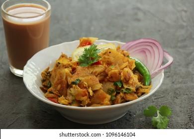 Homemade Kothu Parotta/ Paratha , selective focus
