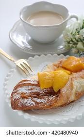 Homemade mango pastry