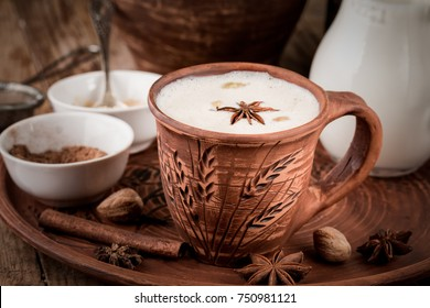 Homemade Masala Chai Tea. It's rich, flavorful, slightly sweet and has the perfect balance of spices.