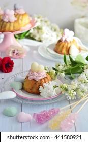 Homemade mini bundt cakes