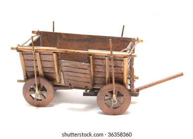 homemade model of old vehicle