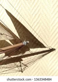 homemade model ship