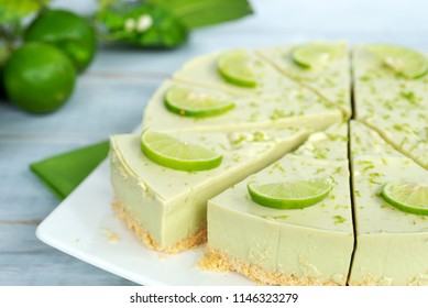 lime cheesecake svenska