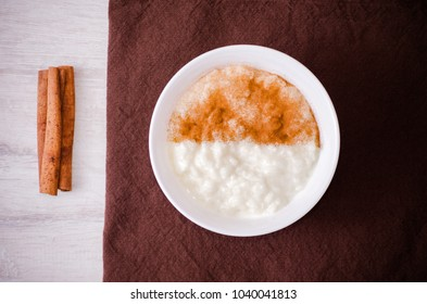 homemade rice milk modern colorful dish