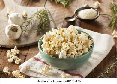 Imágenes, fotos de stock y vectores sobre Popcorn Homemade