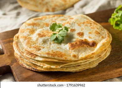 Homemade Roti Chapati Flatbread Ready to Eat