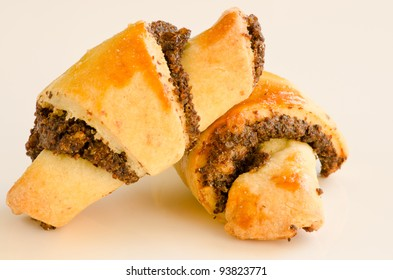 Homemade Rugelach (Jewish pastry)