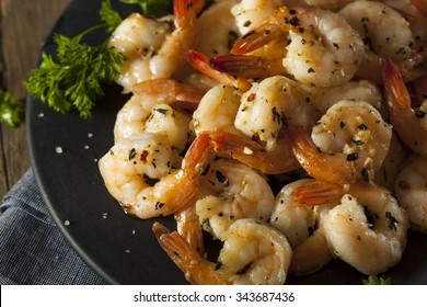 Homemade Sauteed Shrimp with Herbs and Garlic