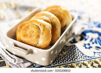 Homemade tasty burek