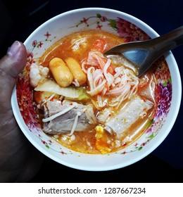 Homemade Thai Suki