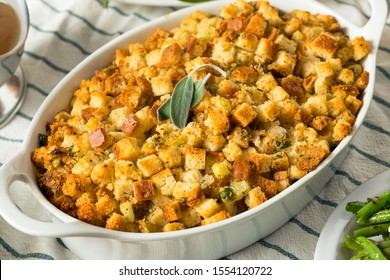 Homemade Thanksgiving Dressing Stuffing Sage and Butter