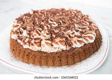 Homemade Tiramisu Cake