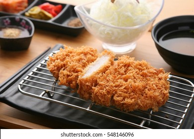 homemade Tonkatsu Pork cutlet