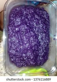 homemade ube !!