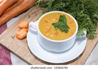 Homemade vegetable Carrot Soup