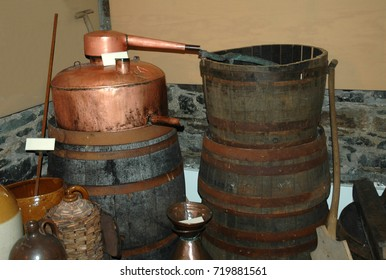 homemade whisky still