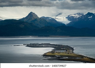 Homer in Alaska is beautiful and worth a visit.