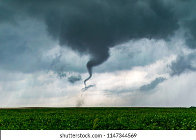 Homer, Illinois / United States - September 9, 2016:  The Homer Illinois Tornado occurred on September 9, 2016 in Central Illinois.