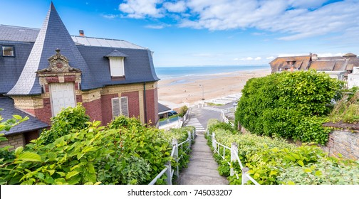 Homes of Deauville in Normandy - France.