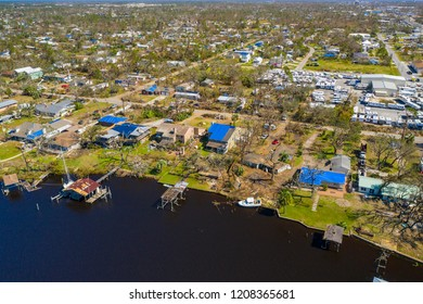 Homes neighborhoods destroyed Hurricane Michael disaster aftermath