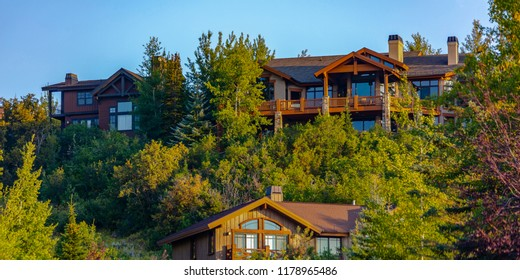 Homes with views in Park City panos
