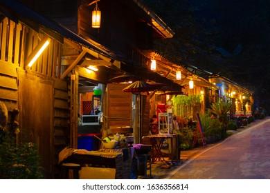 Homestay Evening Ban Mae Kampong village At chiangmai, THAILAND