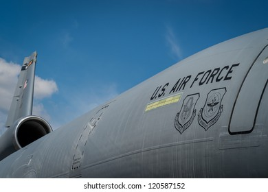 HOMESTEAD, FL - NOVEMBER 5, 2012: Close up of military cargo, during the Wings over Homestead,  November 5 2012.