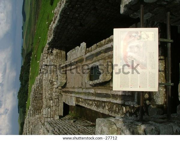 Homesteads Roman Fort, Hadrians Wall, England