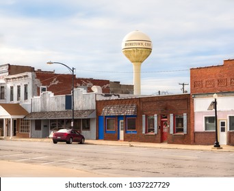 Hometown USA Small Town Main Street Storefronts Business